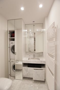 Small bathroom renovations 465841155208714989 - Refresh Your Bathroom With the Latest Bathroom Cabinet Trends – Life ideas Source by Sehamette Modern Laundry Rooms, Laundry Room Design, Laundry In Bathroom, Bathroom Design Small, Bathroom Layout, Bathroom Interior Design, Modern Bathroom, Bathroom Taps, Boho Bathroom
