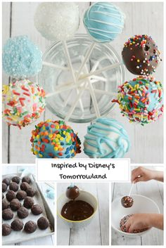 Aspiring chef in the family? Make these easy cake pops together and encourage those dreams!