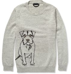 Burberry Prorsum – Dog-Patterned Cashmere Sweater