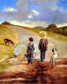 A Fine Day for Fishing- Jim Daly