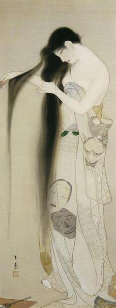 Kiyokata Kaburagi(鏑木清方 1878ー1972)