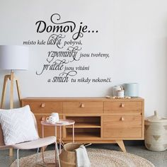 Motto, House, Calligraphy, Home Decor, Homes, Lettering, Decoration Home, Home, Room Decor