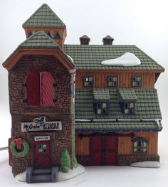 Department 56 New England McGrebe Cutters & Sleighs #56405 Christmas Village