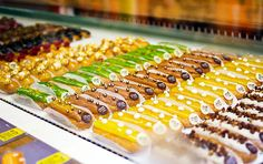 L'eclair de Genie - best eclairs patisserie shop in paris by Shiny Thoughts in Noir et Blanc