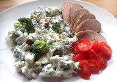 Indrefilet av svin med brokkolisalat + kommende fristelser!