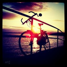 #sunset #cycling