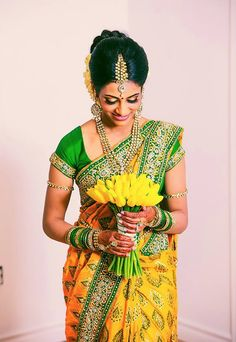Tamil wedding bride