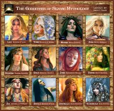 goddesses of Slavic mythology
