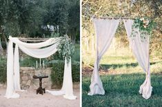 Dreaming of an outdoor ceremony? Then you are going to adore today's inspiration…
