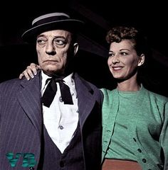 Buster Keaton and wife Eleanor Married 26 years until his death