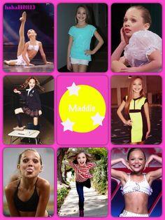 Dance Moms collage Maddie Ziegler by hahaH0ll13
