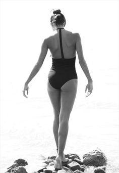 Black One piece swimsuit Holie B