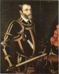 1558- Overlijden Karel V-