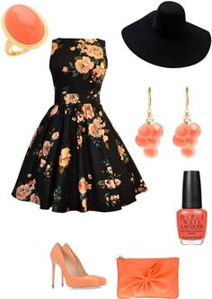 Cute summer wedding outfit