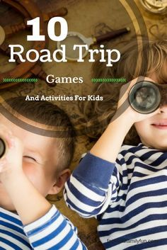 Check out these 10 Road Trip Games and Activities For kids will make your vacation planning an adventure! Free My Adventure Map Printable too! Family Fun for all!