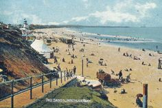 Then and Now: The Sands, Whitley Bay, 1910 Time Images, Old Images, Seaside Beach, Beach Fun, Glorious Days, Driveway Gate, North Sea, Island Girl, Beautiful Hotels