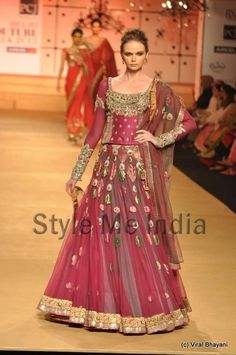 Ashima-Leena at Delhi Couture week 2012