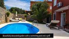 Island of Krk furnished Apartment with a swimming pool near Sea