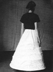 Making a Period Farthingale- crinoline / petticoat