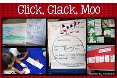 Click, Clack, Moo - Reading and Writing Activities!