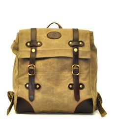 Tan Buckle Backpack J. Campbell  Pascale De Groof Lace Backpack, Leather  And Lace 67a5801520