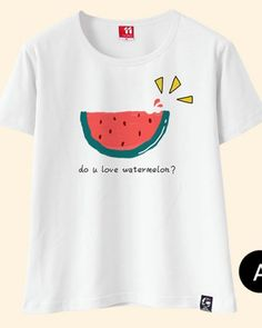 0228e5515 Fruit t shirts with sayings watermelon pineapple printed white tops for  girls White Tops For Girls