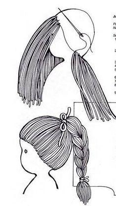 Montage cheveux