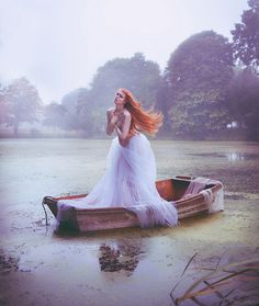 """The Look: """"The Lady of Shalott"""" - by Miss Aniela"""