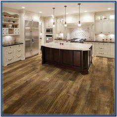 (paid link) Kitchen Wood Flooring: Is it Suitable? #woodfloorkitchen