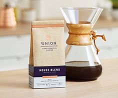 Studio Output / Union Hand-Roasted Coffee packaging and identity design