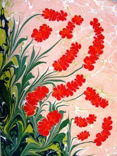 Oylum – Painting © 2008 by Esengul Inalpulat – Ebru, Marbling art Source by Ebru Art, Water Marbling, Turkish Art, Marble Art, Painting Lessons, Fractal Art, Fabric Painting, Islamic Art, Art Tutorials