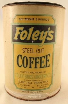 Foley's Steel Cut Coffee