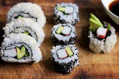 Kuch.com.pl: SUSHI KALIFORNIJSKIE Sushi, Ethnic Recipes, Food, Essen, Meals, Yemek, Eten, Sushi Rolls