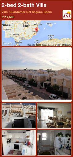 2-bed 2-bath Villa in Villa, Guardamar Del Segura, Spain ►€117,500 #PropertyForSaleInSpain