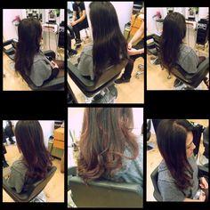 soft violet tousled curls #ajaylovesviolet #FoC #brazilianbeauty