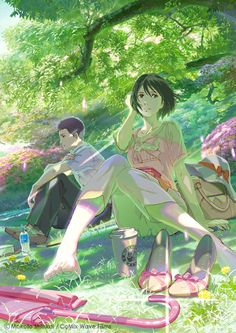 The Garden of Words - Takao & Yukino