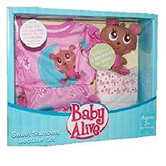 Baby Alive Clothes At Toys R Us Fascinating Baby Alive Reversible Pajamas Set  Sweet Slumber  Funrise  Toys Inspiration
