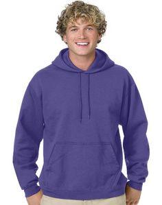 Navy Hanes Mens Pullover Ecosmart Fleece Hoodie Xx-Large