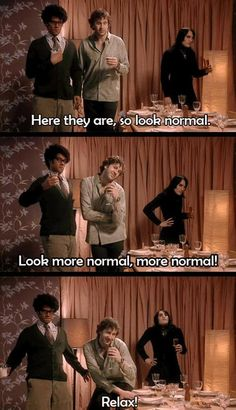 Thank god for the IT Crowd