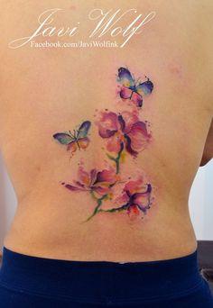 Flores y mariposas - Diseño y estilo propio :)AGENDA CERRADA por el momento.