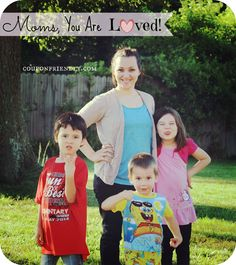 Just when you feel like your best isn't good enough - Moms, you ARE loved! #mom