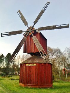 Windmill Yli-Penttilä, Koskenkorva, Finland.