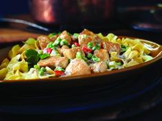 Shortcut Chicken à la King Recipe Campbells Soup Recipes Chicken, Chicken Recipes, Campbell's Cream Of Chicken, Cambells Recipes, Cooking Recipes, Healthy Recipes, Easy Recipes, Cooking Cream, Potato Dishes