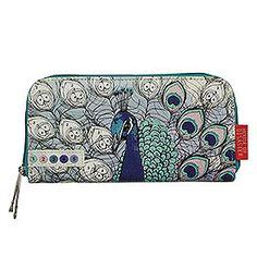 90e379bbc26 Disaster Designs Colour Me Peacock Wallet - Destination Fashion