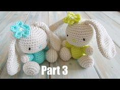 ▶ (crochet) Pt2: How To Crochet an Amigurumi Rabbit - Yarn Scrap Friday - YouTube