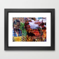 Southwest Framed Art Print| Society6