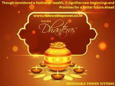 #Renewablepowersystemsdelhi wishes #HappyDhanteras2019