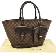 1b698ee5de37 The Louis Vuitton Manosque Damier Ebene Shoulder Bag is a top 10 member  favorite on Tradesy.