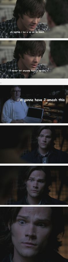 The Supernatural fandom is starting to let their Sherlock fandom show...<--- Not my comment but yes it is...