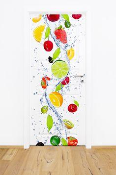 Fototapeta / naklejka na drzwi w dowolnym formacie - owoce.